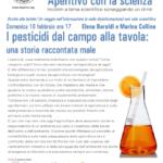 Aperitivo con la scienza - I pesticidi dal campo alla tavola: una storia raccontata male